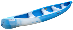 Plastic canoe Sioux - 4 / 5 persons
